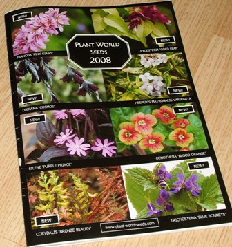 Plant World Seeds 2008 Catalog