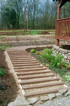 Front-to-side path in progress early May 03