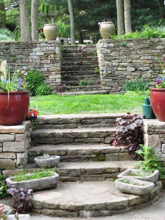 Garden Design On A Slope contemporary garden design slope pin and more intended inspiration