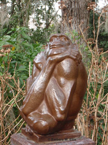 The Thinker, Bronze, Marshall Fredericks (1908-1998)
