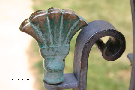 Fence finial