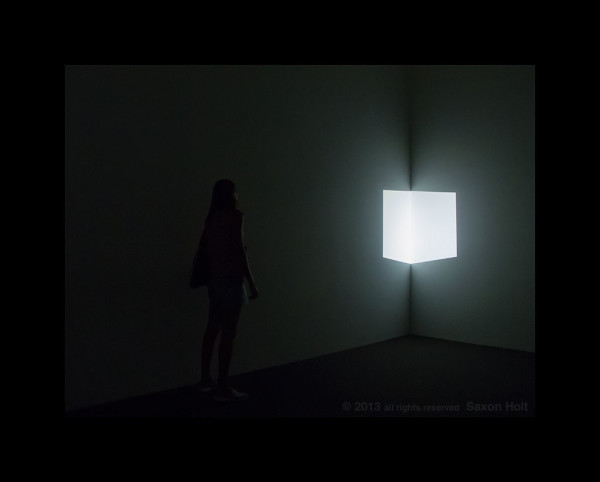 "James Turrell ""Afrum 1 (White)"""