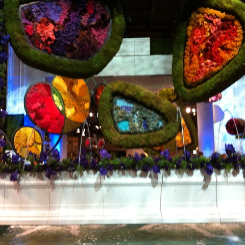 The King's Feast Centerpiece at Philadelphia Flower Show