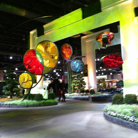 Philly Flower Show Calder Inspired