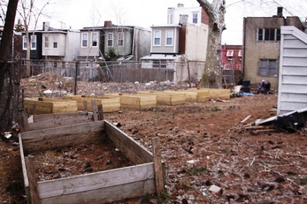 West Philly Community Garden