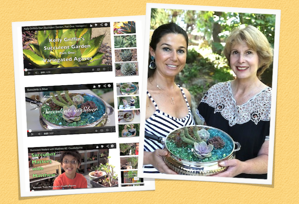 May 1-3: Succulent designer Berna Eren visited from Istanbul. I took her to consignment stores, garden boutiques and nurseries, and we made a video that's now on my YouTube channel.