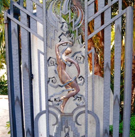 Art Deco gate